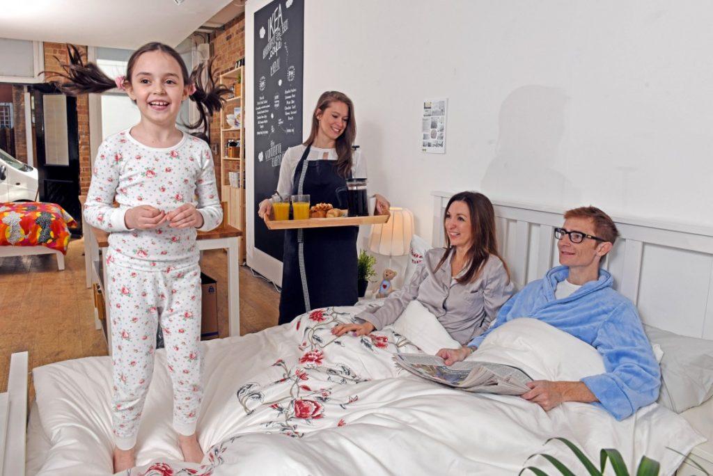 Vive les ptits déj au lit !