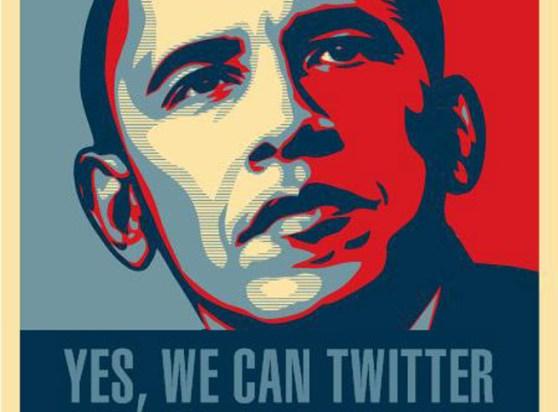 Obama m'a twitter