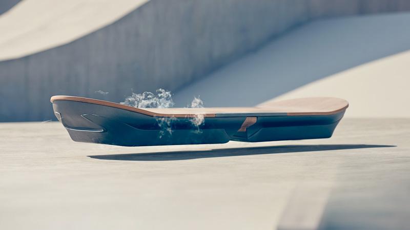 Le premier Hoverboard…