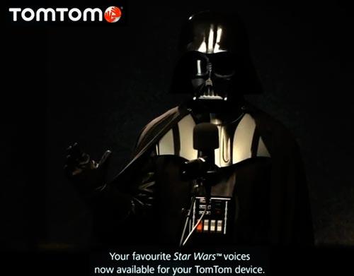 Dark Vador with Tom Tom