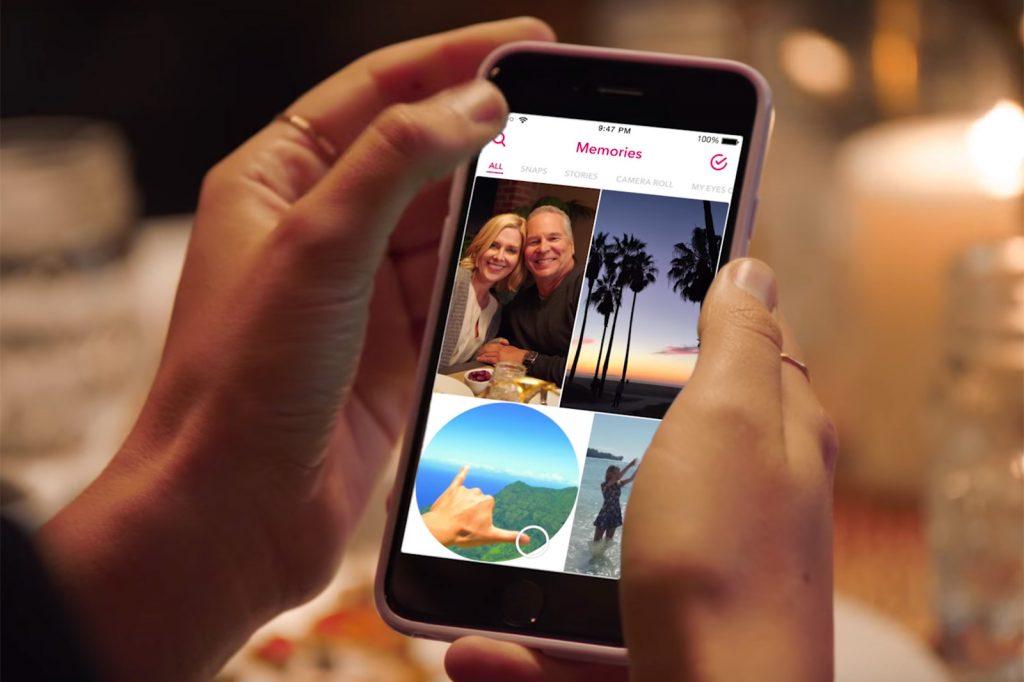#SPOILER Quand Snapchat se transforme en Instagram V2.0