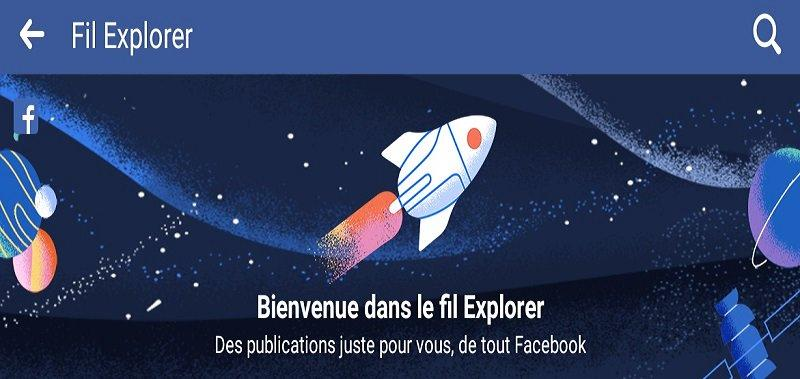 Une fonctionnalité de plus pour Facebook : l'onglet « Explorer »